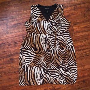 Lane Bryant animal print dress Sz 18/20